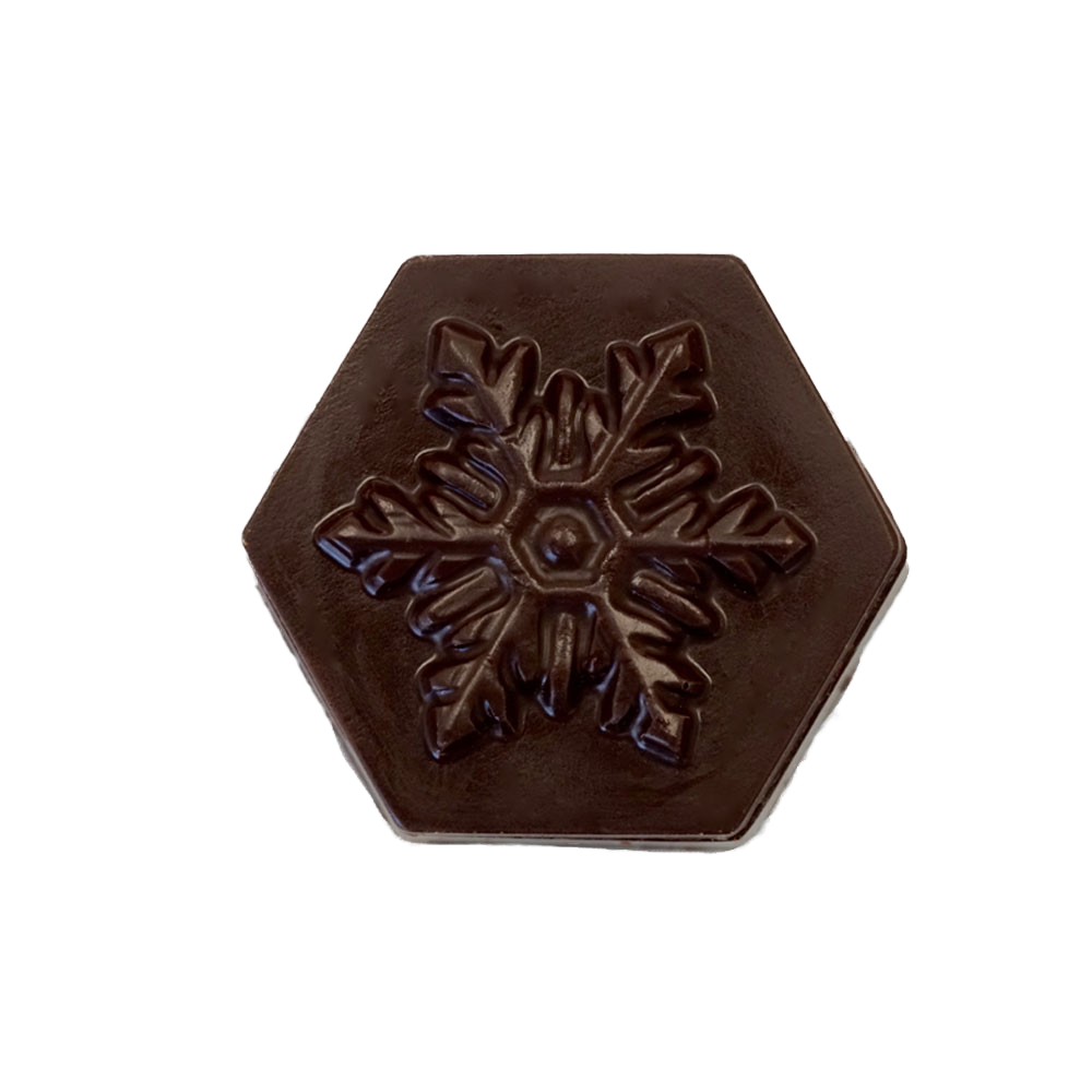 Farm Sanctuary Vegan Chocolate Snowflake Box by Chocolate Legends