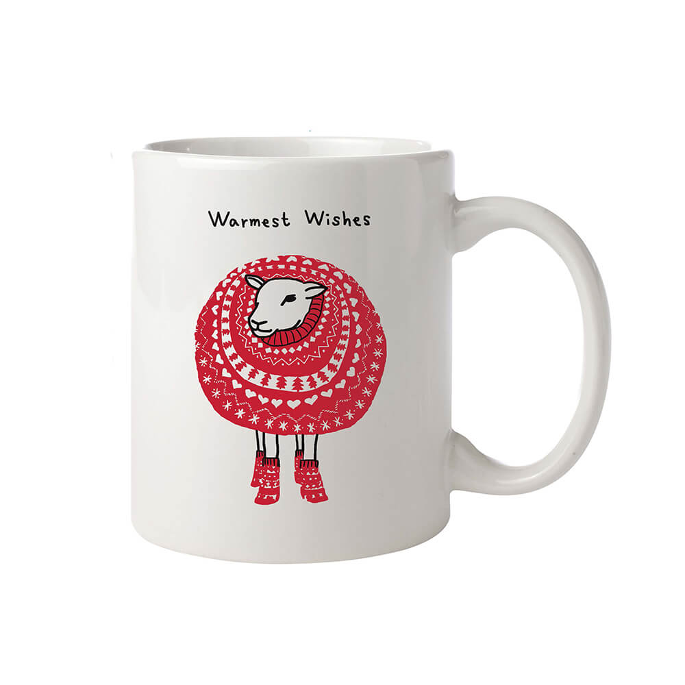Farm Sanctuary Warmest Wishes Mug
