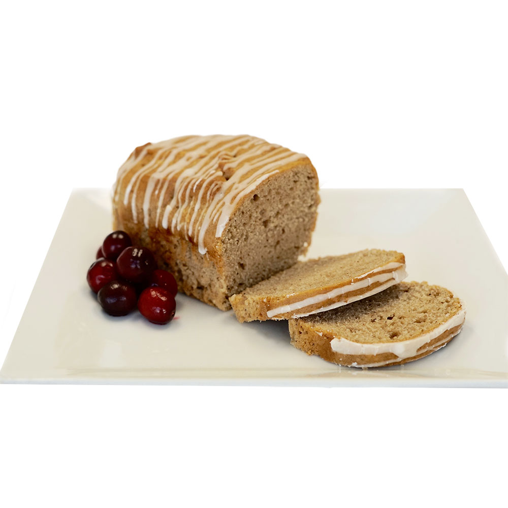 Farm Sanctuary's Vegan Eggnog Loaf by Marge's Bakery