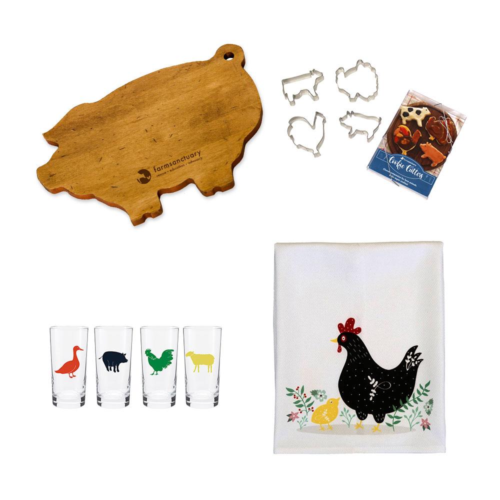 Farm Sanctuary Hostess Gift Set