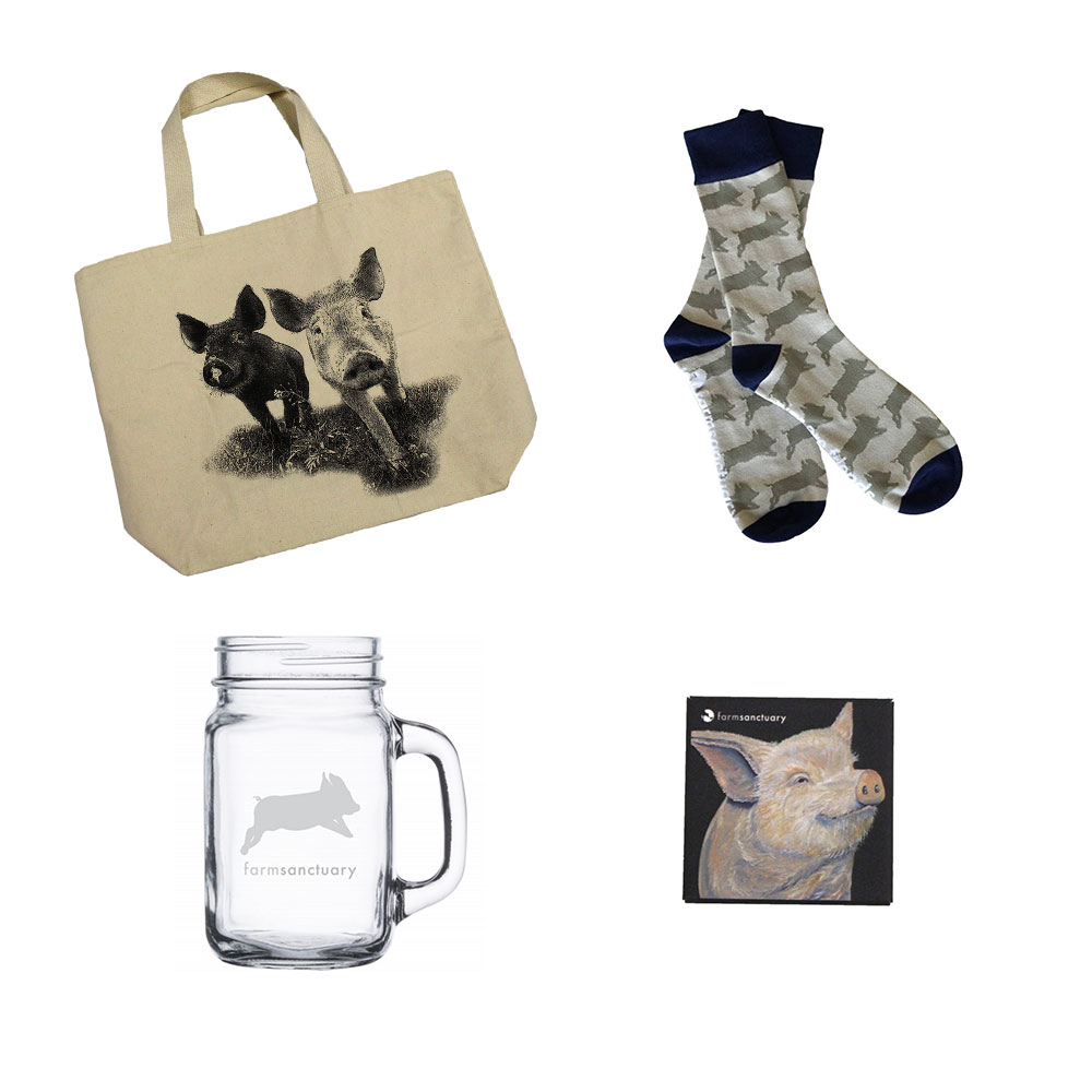 Farm Sanctuary Pig Lover Gift Set