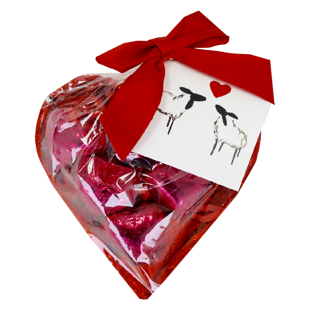 Vegan Chocolate Hearts of Cherry <br>Organic and Gluten Free