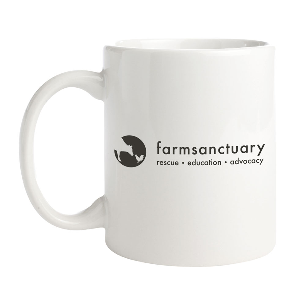 Farm Sanctuary I Love Moo Mug