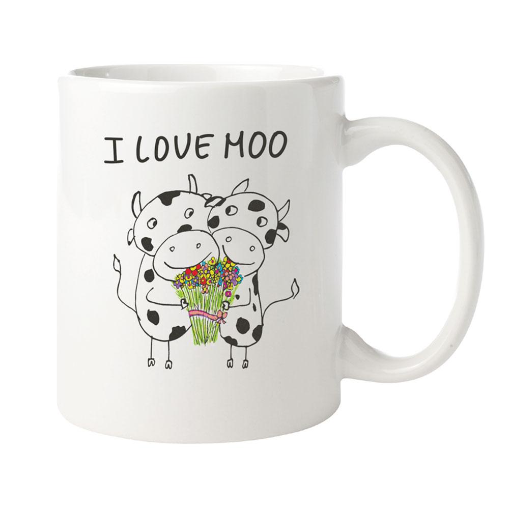 Farm Sanctuary I Love Moo Mug