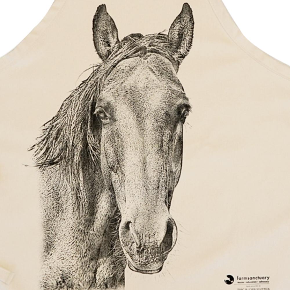 Farm Sanctuary's Joann Horse Apron