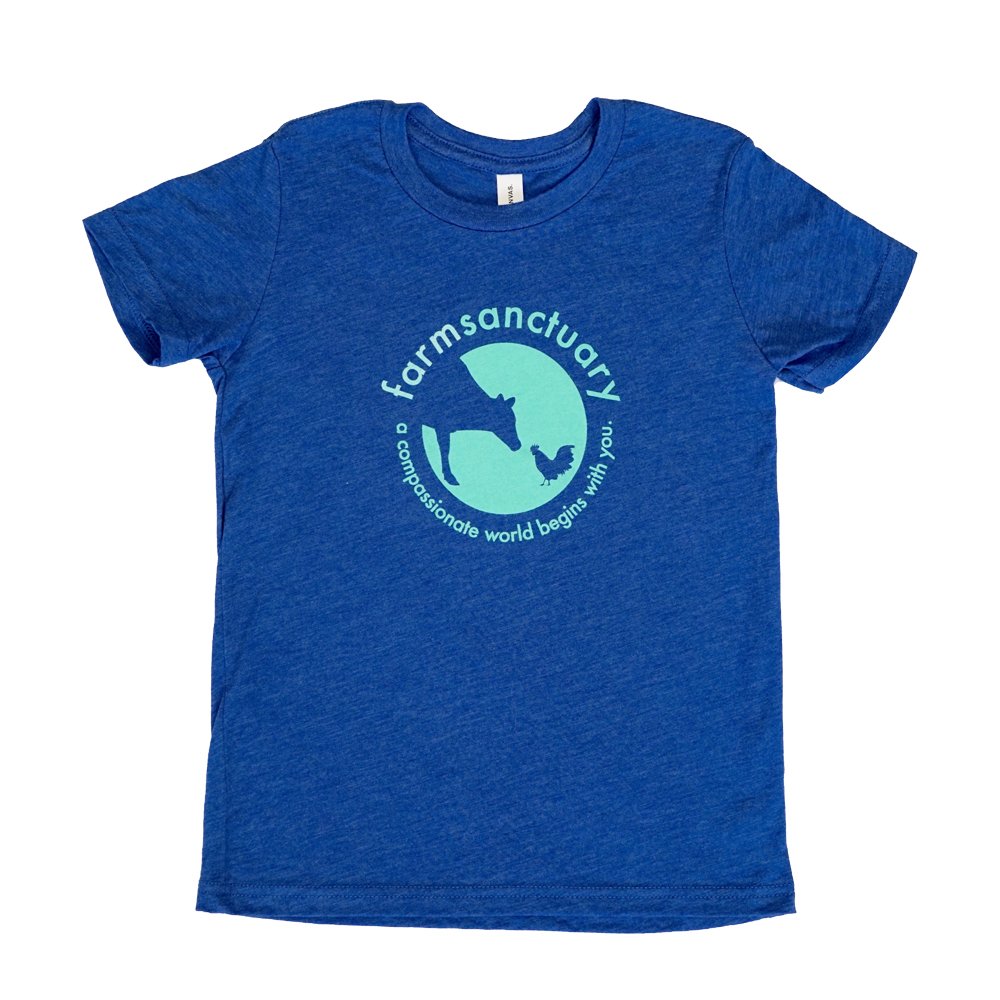 Farm Sanctuary Blue Sanctuary Life Toddler Tee