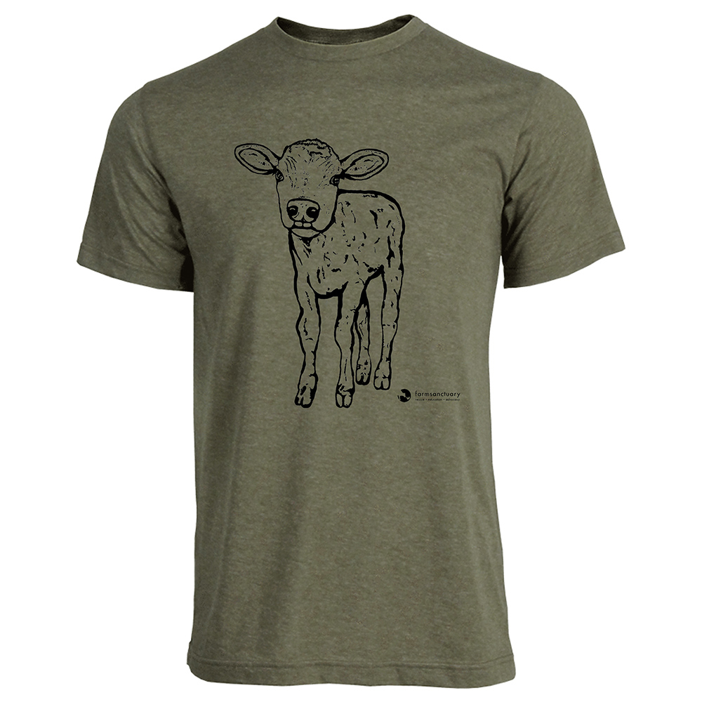 Farm Sanctuary Milton Unisex Tee 100% Cotton