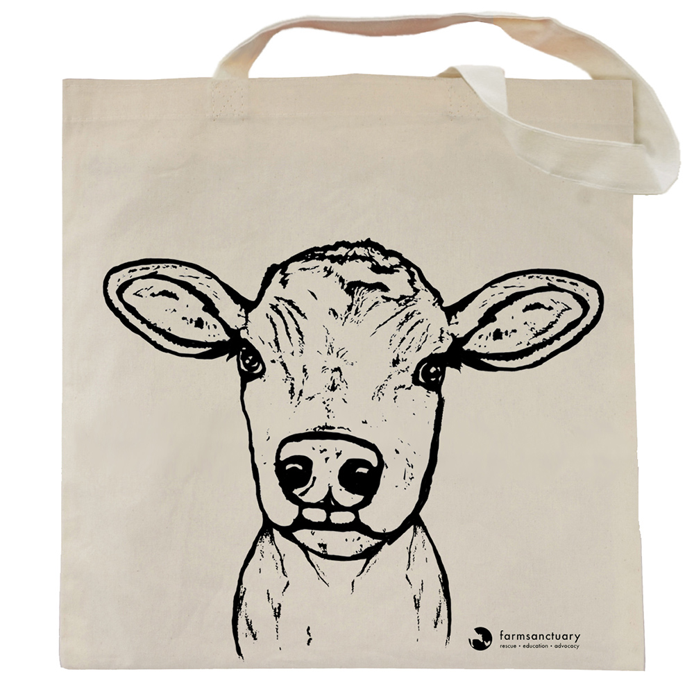 Farm Sanctuary Milton Tote Bag