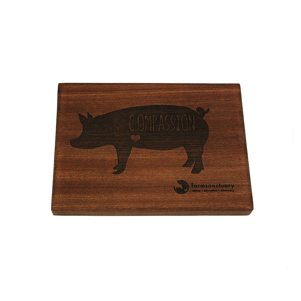Farm Sanctuary Compassion Pig Serving Board