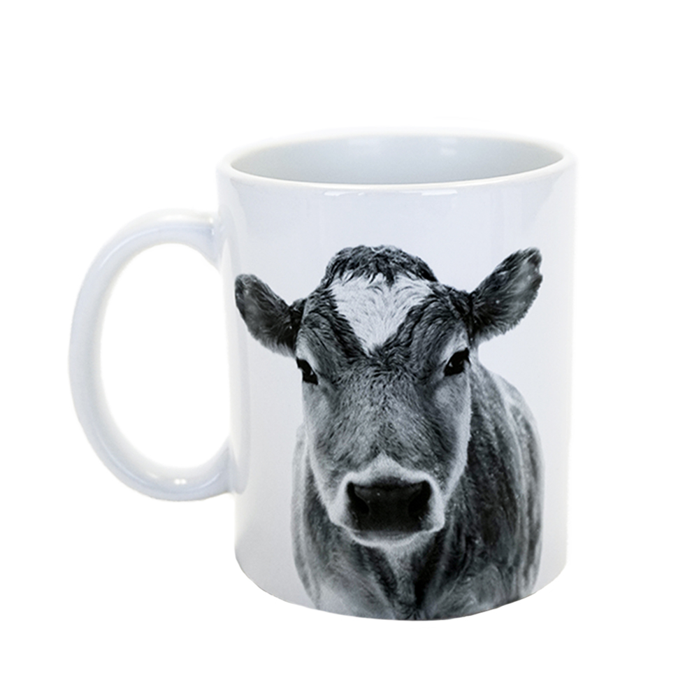 Farm Sanctuary Animal Mug Set - Cow Mug
