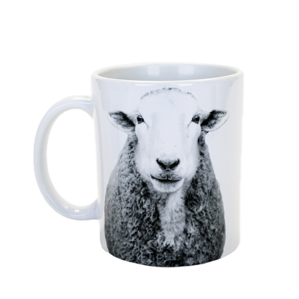 Farm Sanctuary Animal Mug Set - Sheep Mug