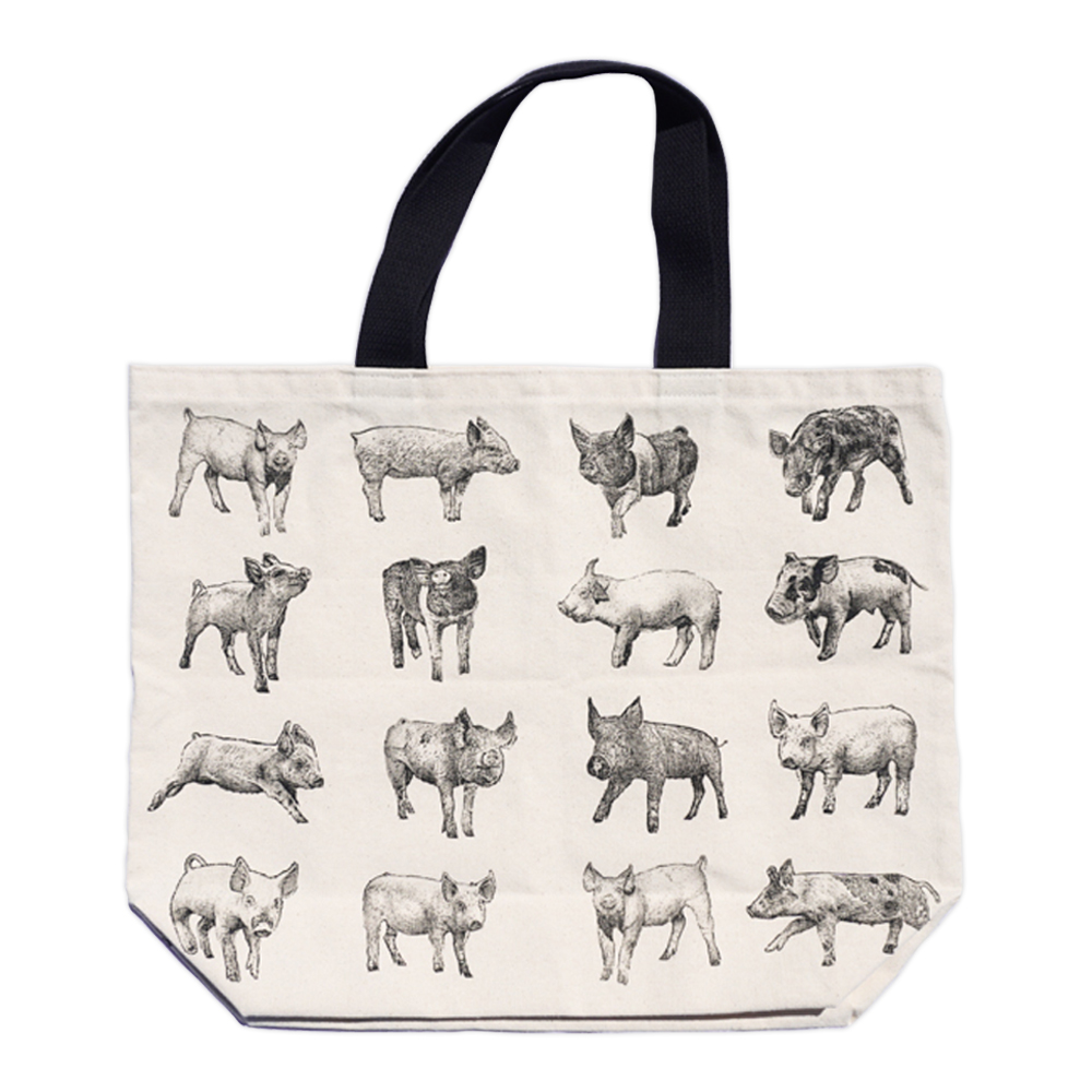 Farm Sanctuarys Tote of Pigs