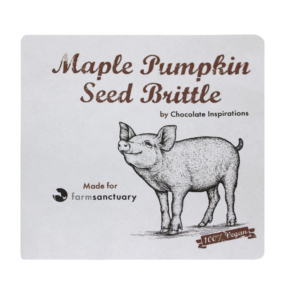 Farm Sanctuary Maple Pumpkin Seed Brittle