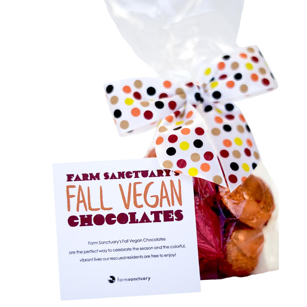 Farm Sanctuary's Fall Vegan Chocolates