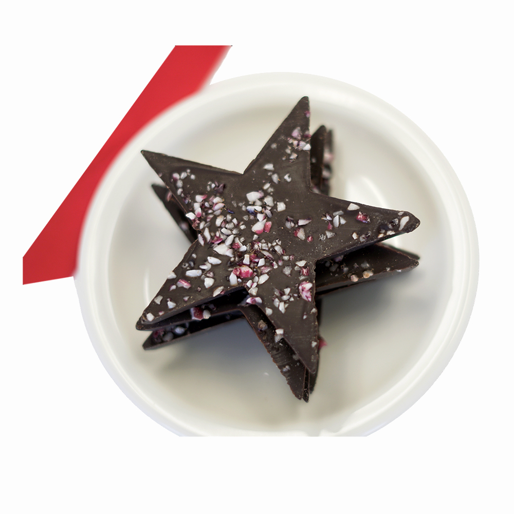 Farm Sanctuary's Chocolate Peppermint Stars<br>Gluten Free - 200574