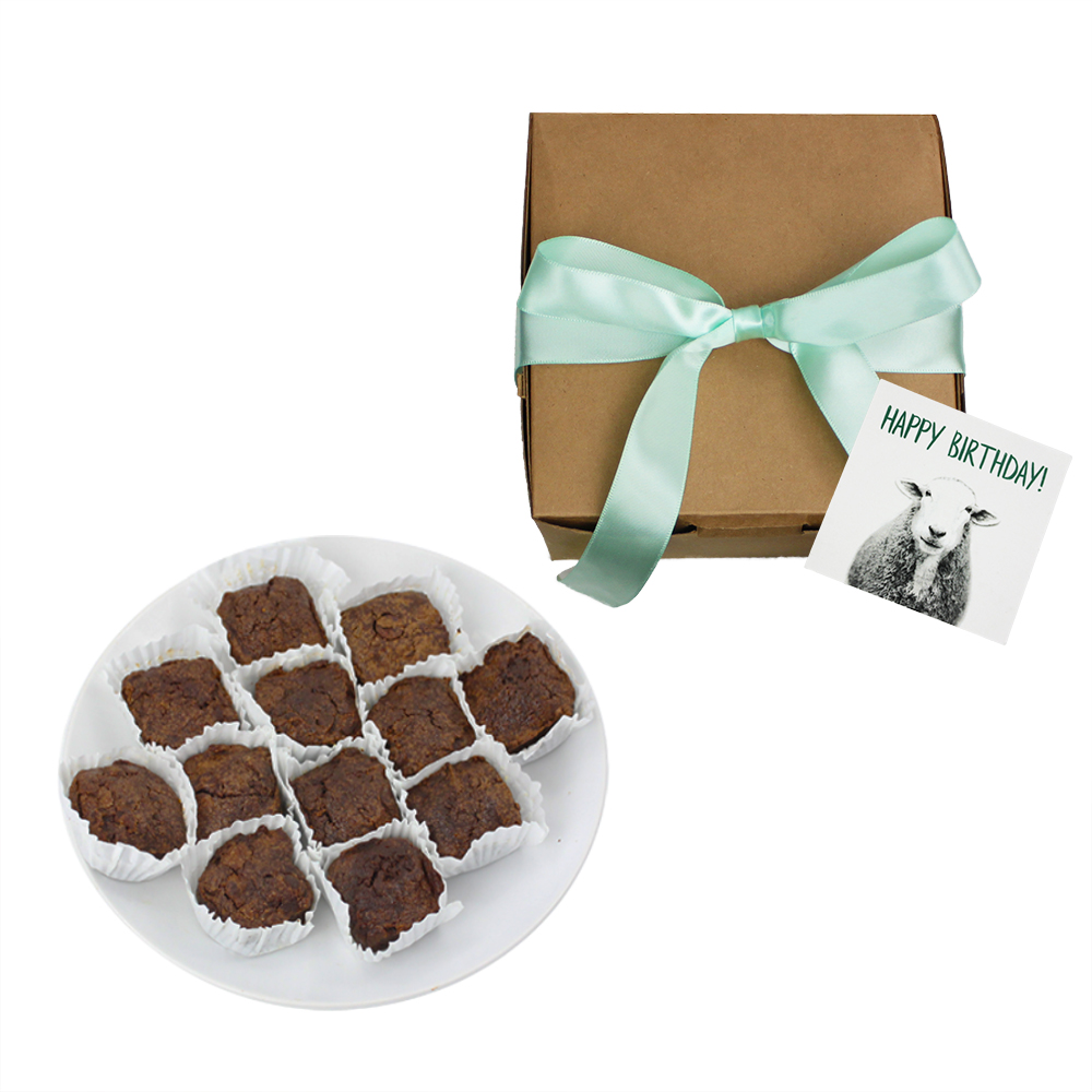 Farm Sanctuarys Vegan Birthday Brownies
