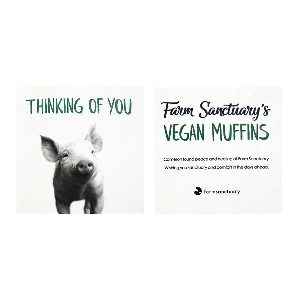 Farm Sanctuary's Vegan Muffins