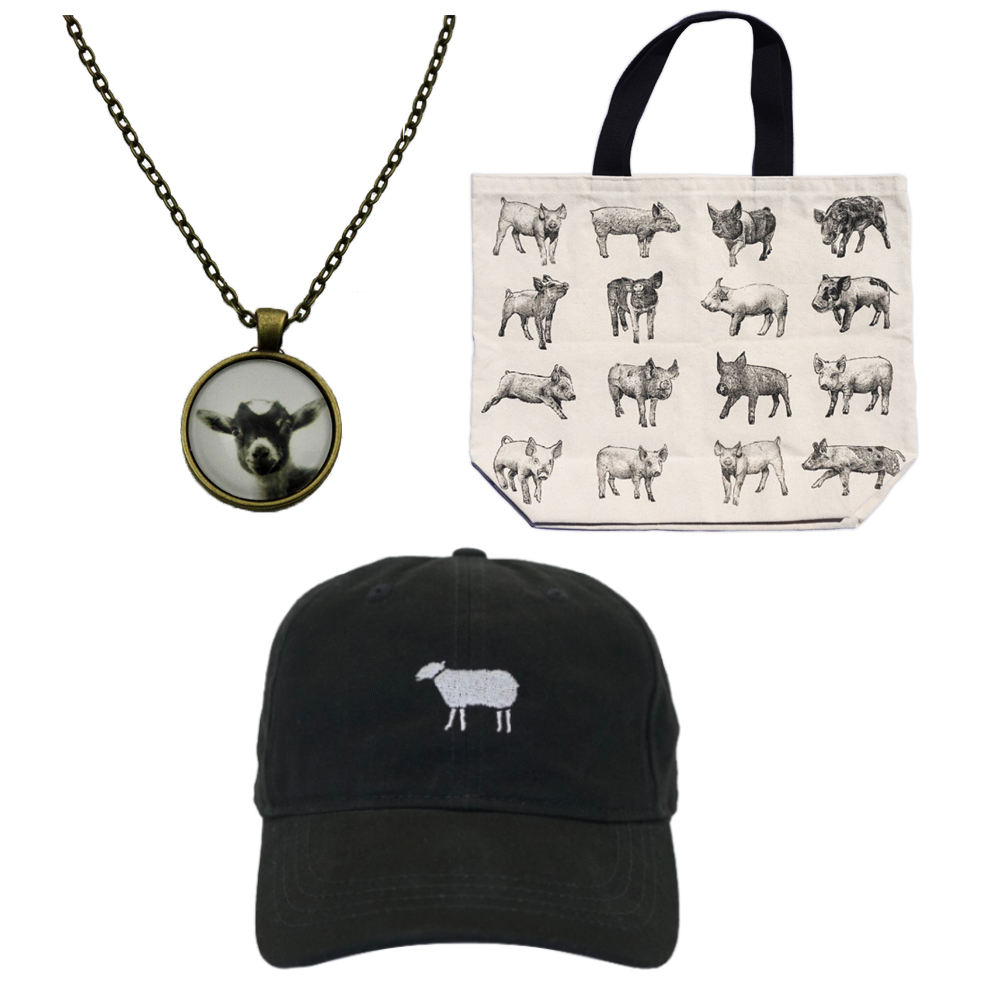 Farm Sanctuary Cute Animal Gift Set