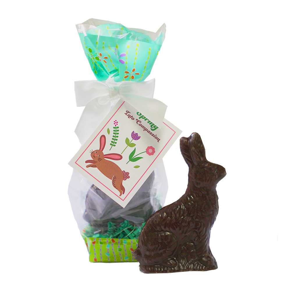 Farm Sanctuary Vegan Chocolate Bunny