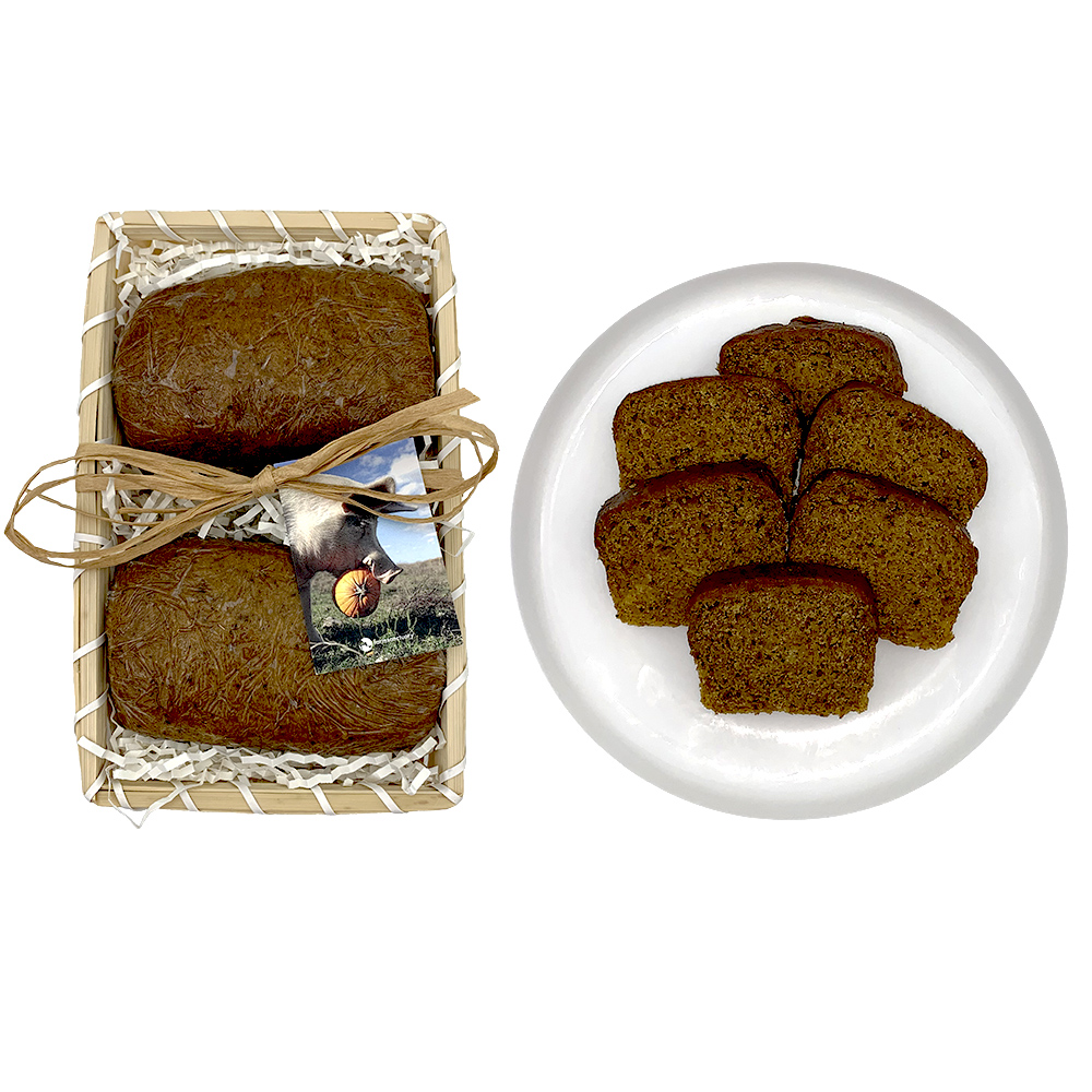 Farm Sanctuary Vegan Fall Bread - Vegan Pumpkin Bread Marges Bakery