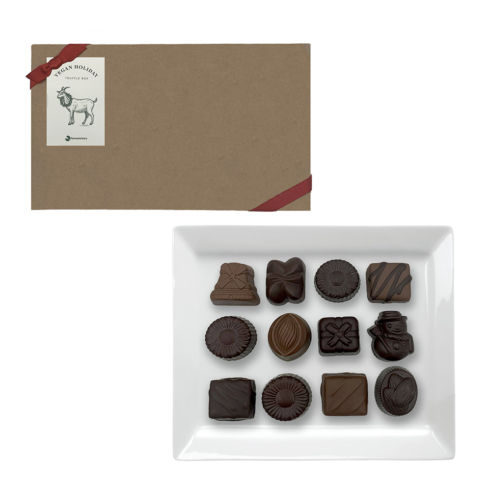Farm Sanctuarys Vegan Holiday Truffle Box