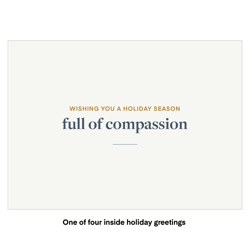 Farm Sanctuary 2020 Holiday Cards
