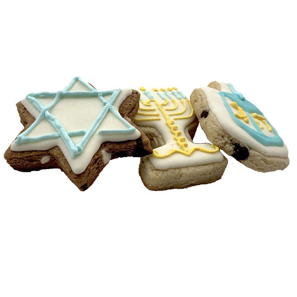 Vegan Hanukkah Cookies - 200616