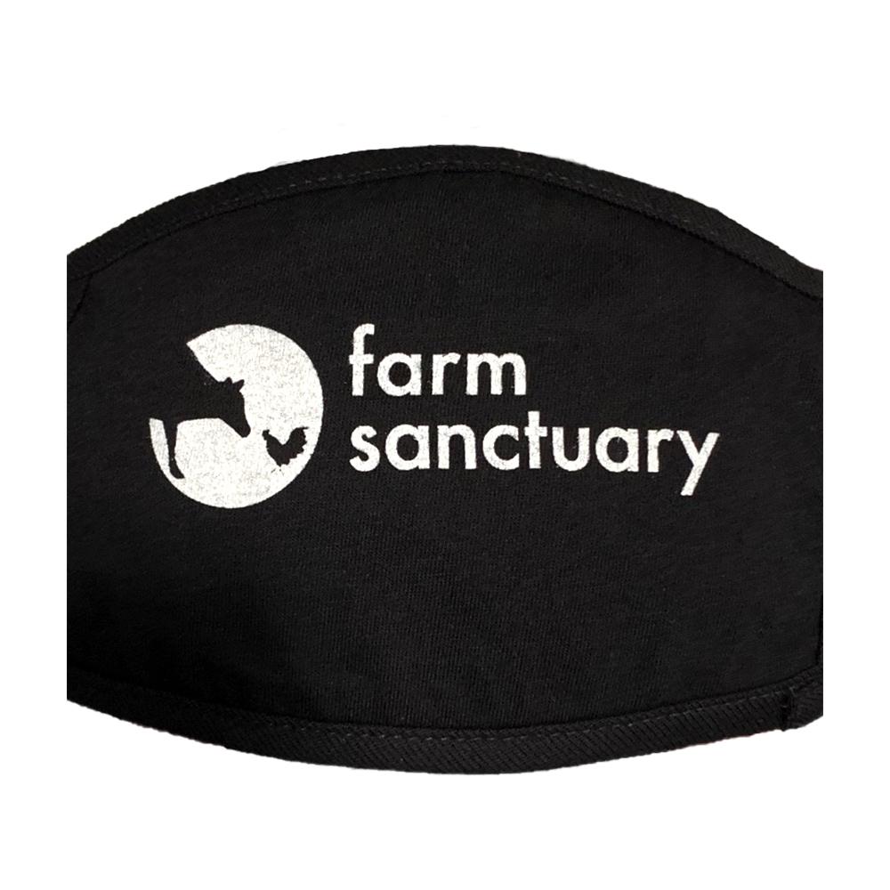 Farm Sanctuary Logo Face Mask
