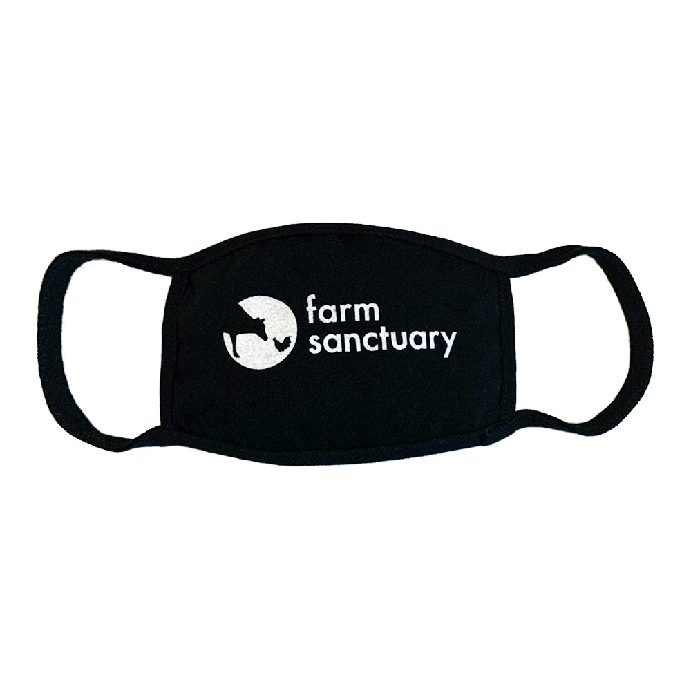 Farm Sanctuary Logo Face Mask