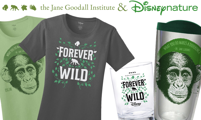 Shop New Disneynature & JGI Collection!