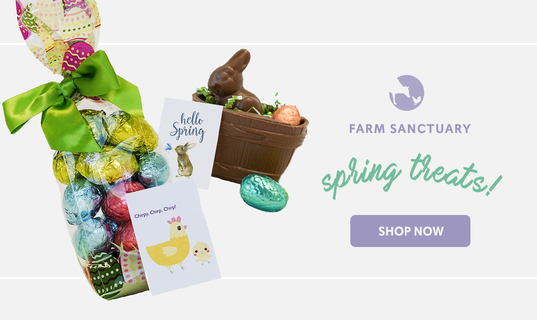Shop Farm Sanctuary's Easter Treats!