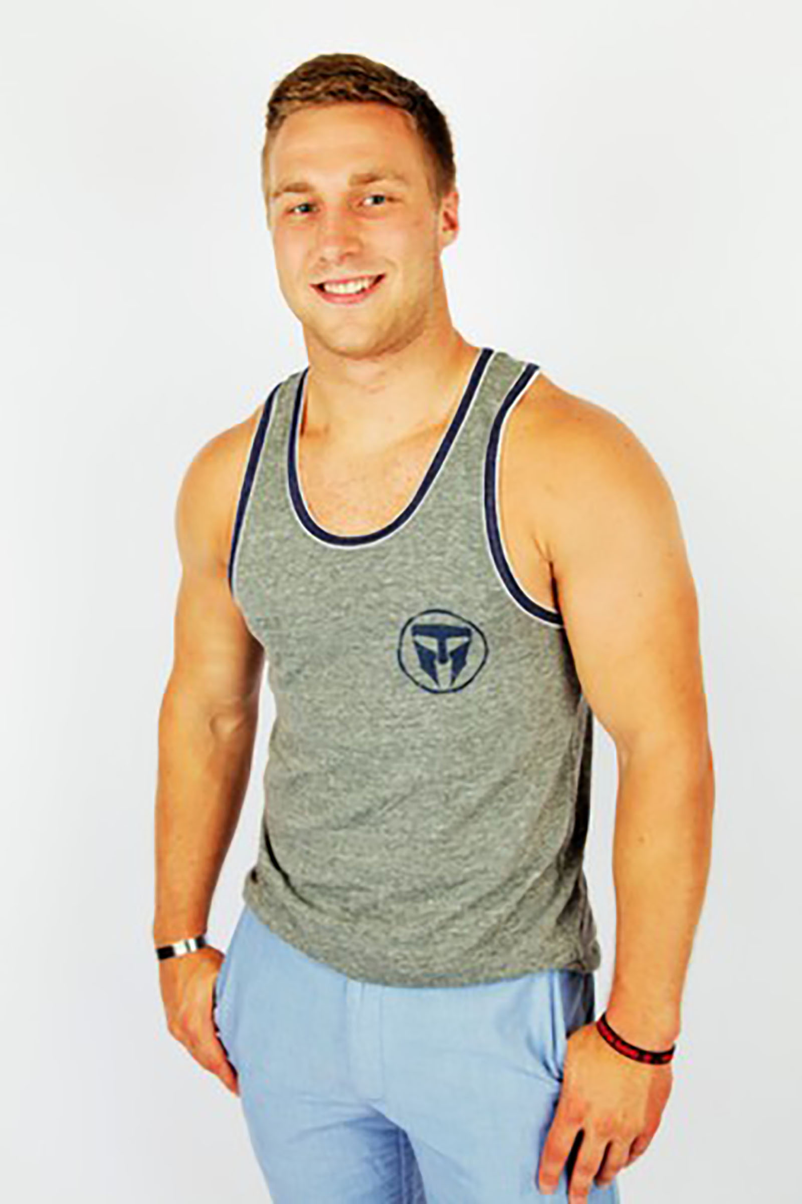 Travis Manion Foundation Mens Double Ringer Tank
