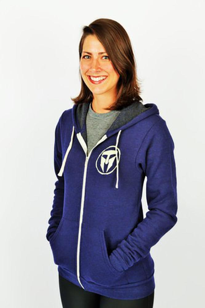 Unisex Adult TMF Logo Full Zip Hoodie