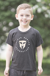 Unisex Toddler Charcoal Tee