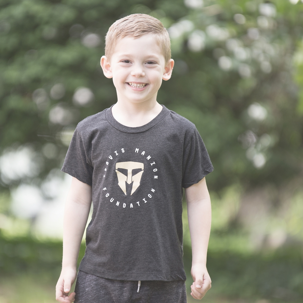 Unisex Toddler Charcoal Tee - BAC000-T