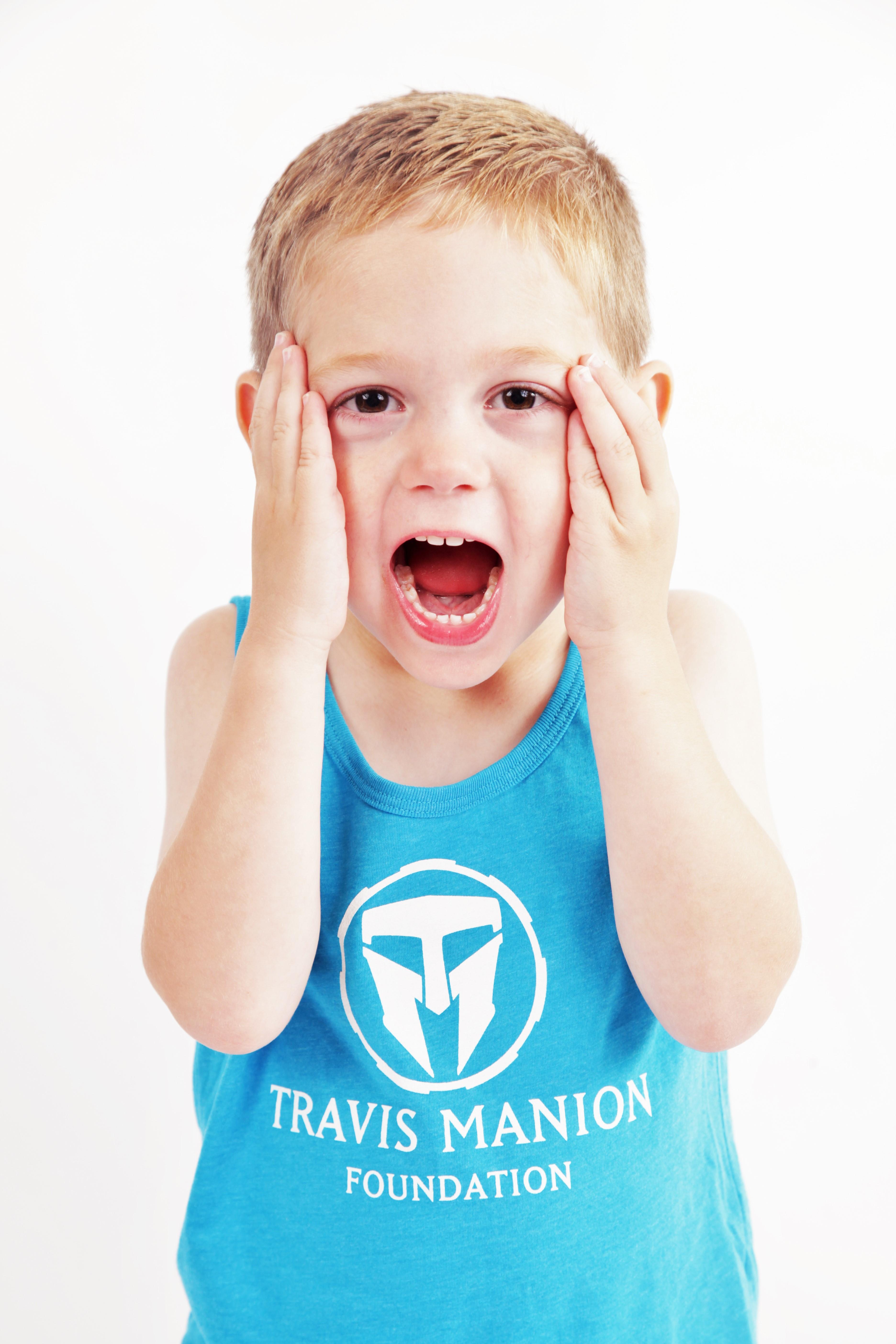 Travis Manion Foundation Neon Kids Tank