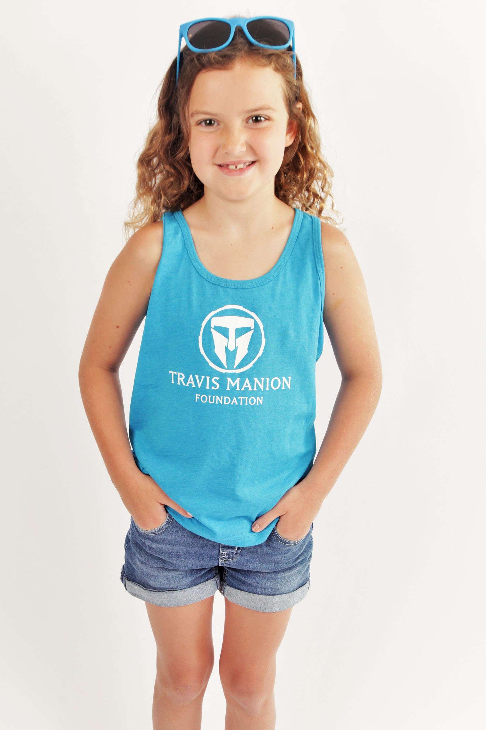 Travis Manion Foundation Neon Youth Tank