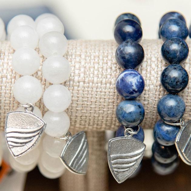 Handmade Large Beaded BBF Bracelet beau biden, beau biden foundation, beau biden shop, bbf bracelet, biden charm bracelet, biden shop, beau biden bracelet, biden bracelet, bracelet,  biden be the shield