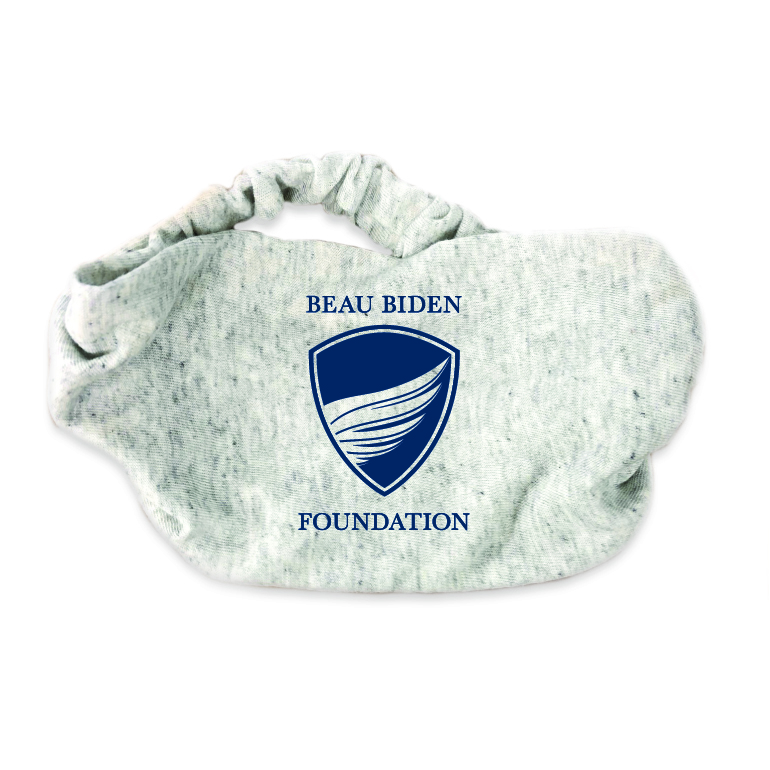 BBF Logo Headband beau biden, beau biden foundation, beau biden shop, bbf headband, biden headband, biden shop, beau biden headband,  biden be the shield