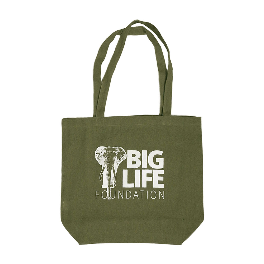 Big Life Tote - 100% Recyled Cotton