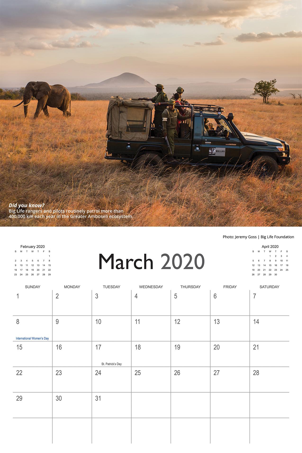 Big Life 2020 Calendar - BL114