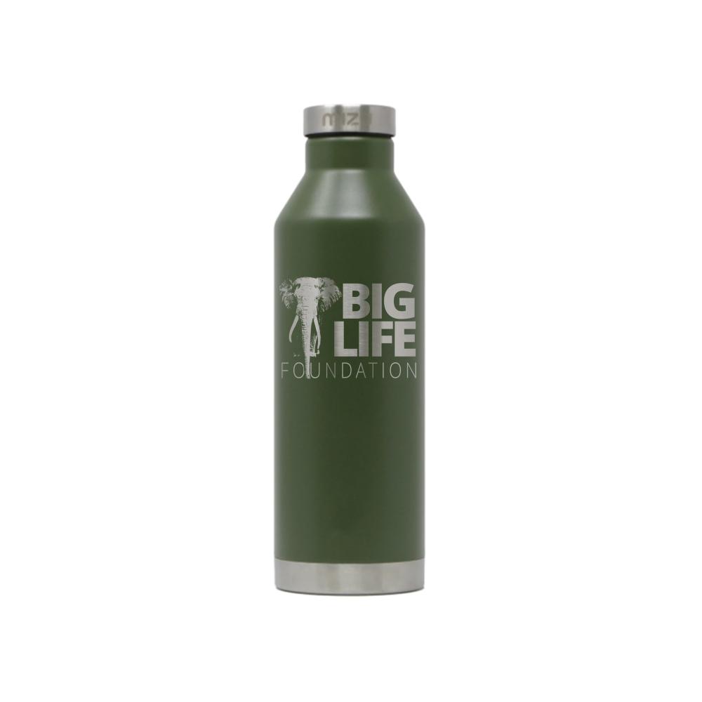 Insulated Mizu Water Bottle - Green