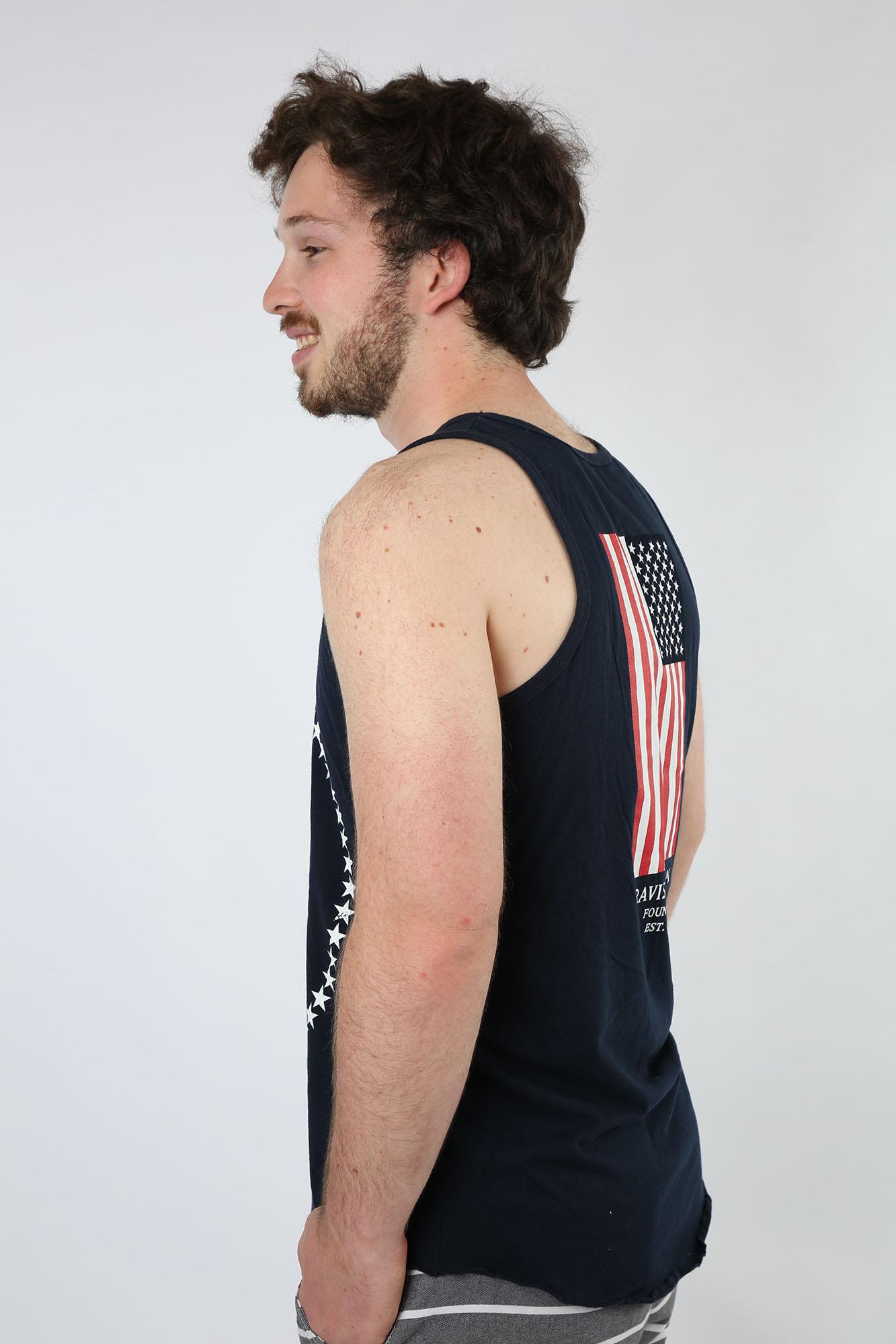 Travis Manion Foundation Men's Navy Star Tank