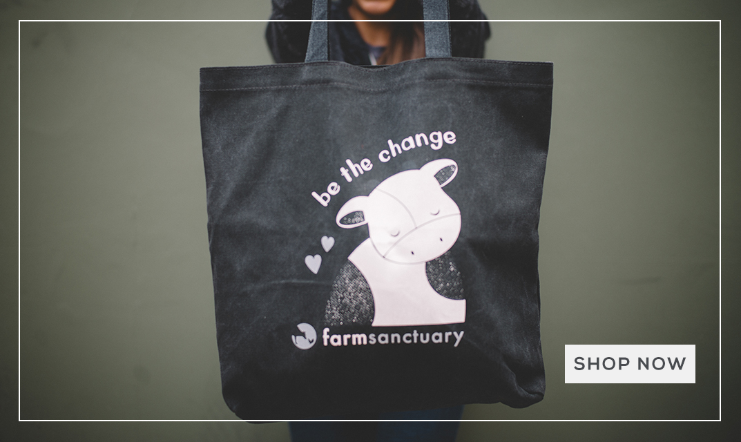 Shop Farm Sanctuary's Be The Change Collection