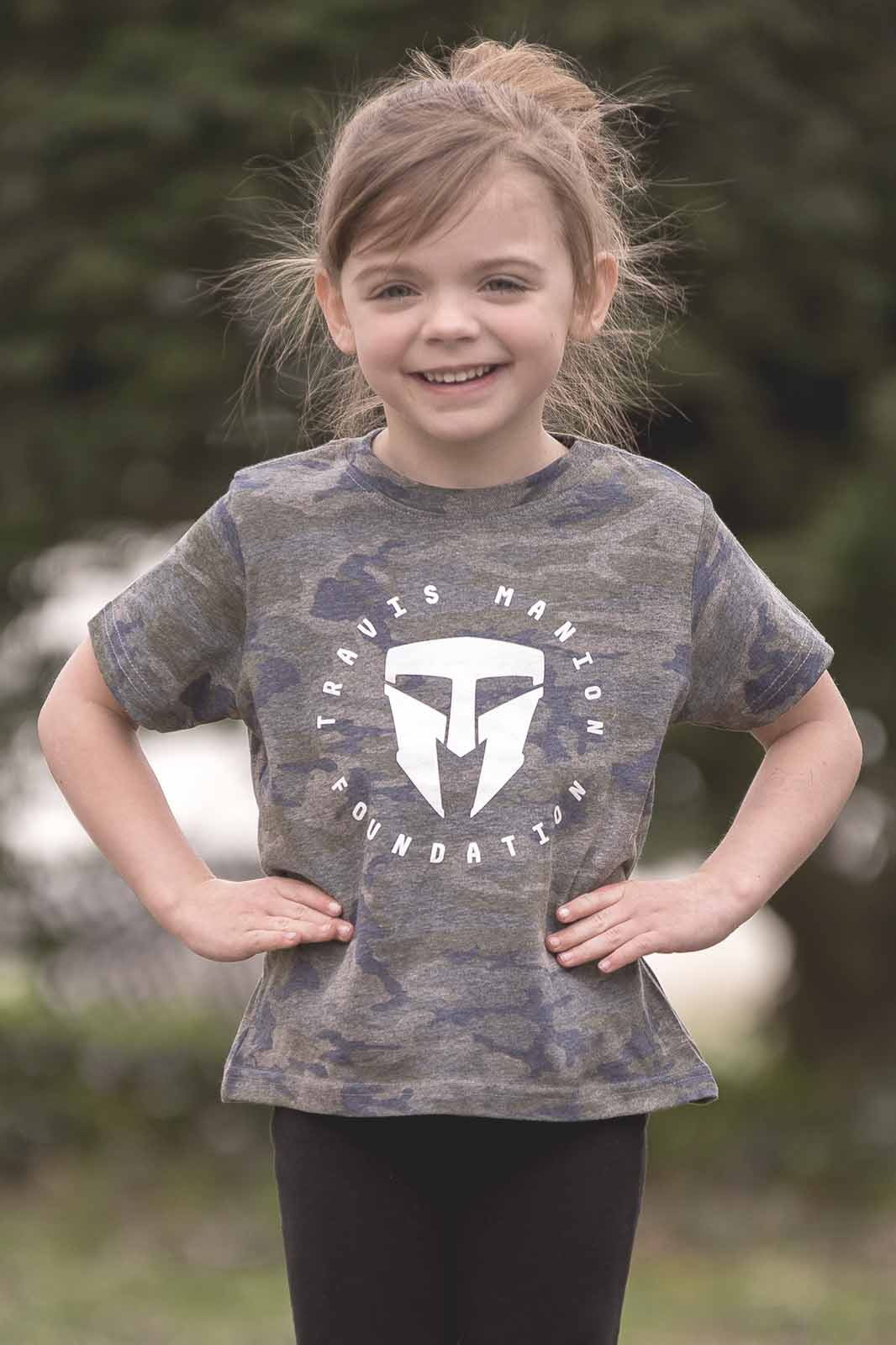 Toddler Fine Jersey Camo Tee