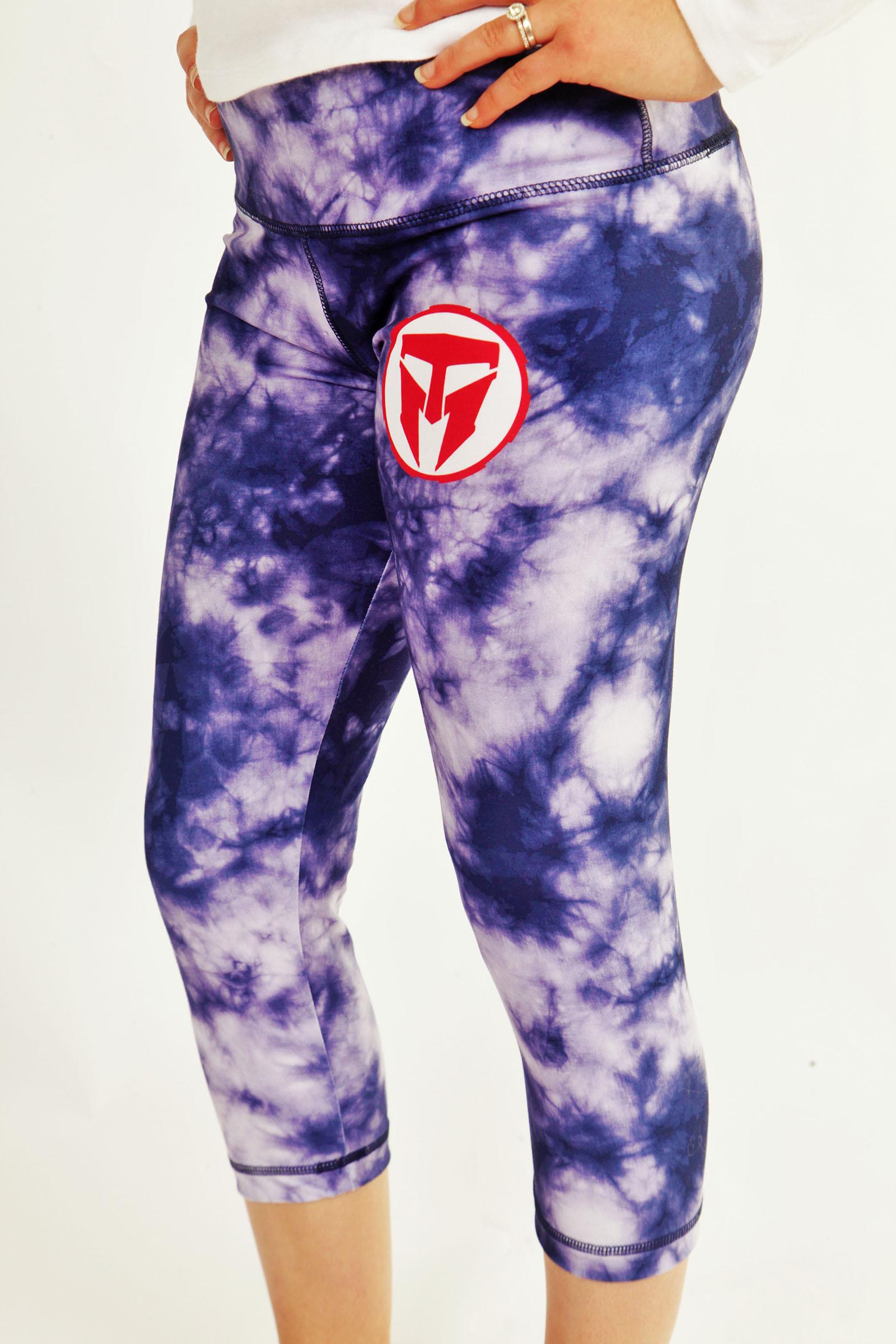 TMF Ladies Tie Dye Capri