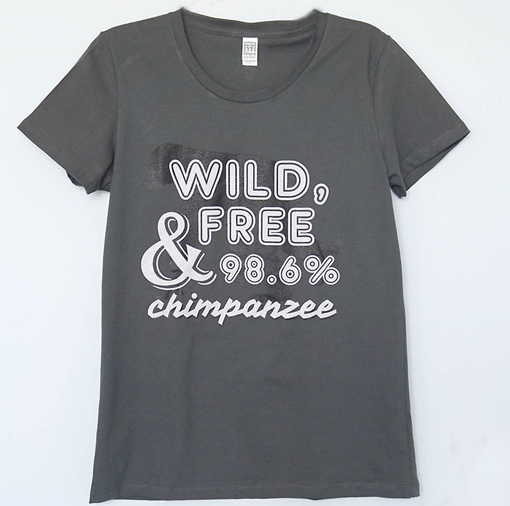 Ladies 98.6% Chimp T-shirts - JGI144