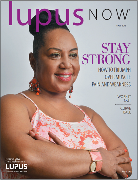 Lupus Now Fall 2015 Issue Cover