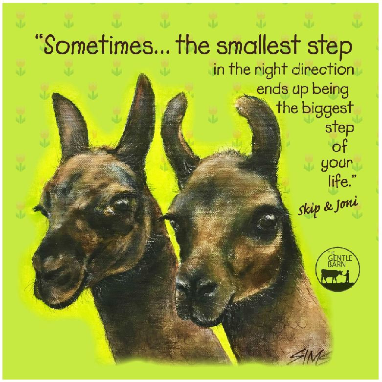 Jody Sims Compassionate Art Prints -Skip & Joni