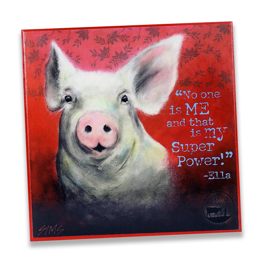 Jody Sims Compassionate Art Prints - Ella